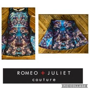 🦋Romeo + Juliet Couture Floral Fit/ Flare Dress🦋
